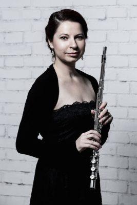 Andrea Mosorjaková, flute