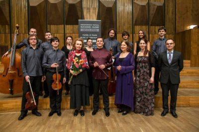 Quasars Ensemble with Kaija Saariaho, Photo: Melos-Ethos 2013