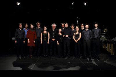 Quasars Ensemble with Michael Jarrell, Photo: Tomáš Bachura