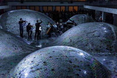 Quasars Ensemble, installation by Élise Morin, Waste Landscape # 4