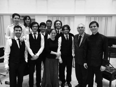 Quasars Ensemble with composer Vladimír Bokes (2016)