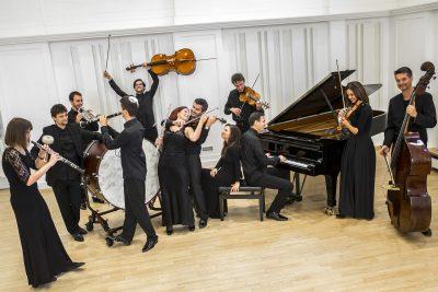 Quasars Ensemble, Photo: Zdenko Hanout (2016)